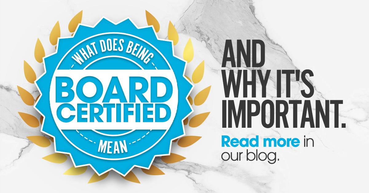 board certified doctor importance